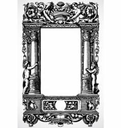 column frame vector image vector image