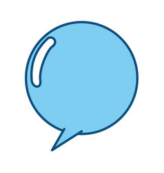 Chat bubble comic vector