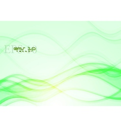 Colourful waves design vector image