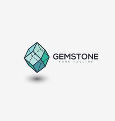Gemstone logo vector