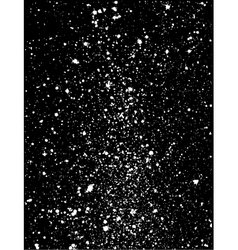 graffiti paint splatter pattern in white on black vector image