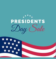 Happy presidents day sale handwritten phrase vector