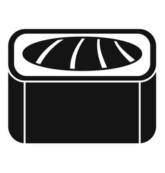 maguro sushi roll icon simple style vector image