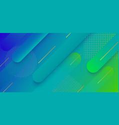 Modern gradient geometric background vector