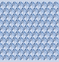 Pattern blue scaly vector