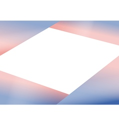 Rose quartz serenity triangle background vector