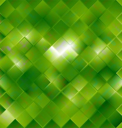Seamless green pattern of squares vector