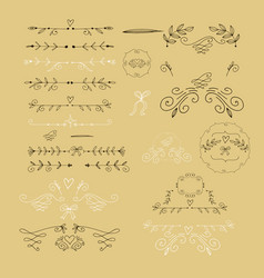 Set of elements35 vector
