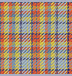 Tartan plaid seamless pattern color textile vector