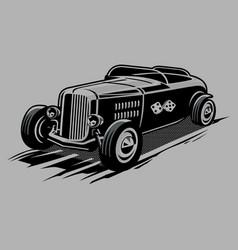 Vintage car 28 vector