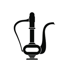 Vintage Indian teapot icon simple style vector image vector image