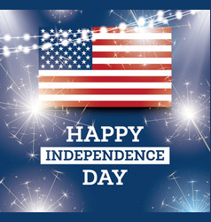 4th july united states national independence vector image