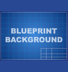 Blueprint background technical design paper vector