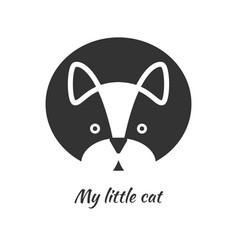 cat symbol vector image