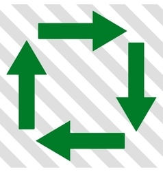 Circulation Arrows Icon vector