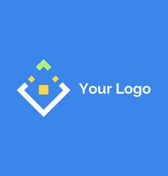 logotype symbol company label logo icon vector image