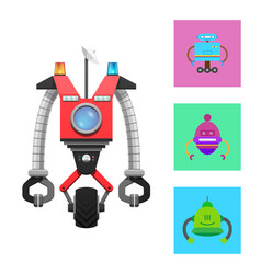 Mechanical creature collection vector