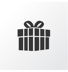 Present icon symbol premium quality isolated gift vector