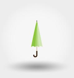 rainwater umbrella icon flat vector image