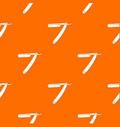 razor blade pattern seamless vector image