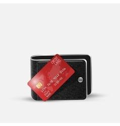 Realistic credit card vector