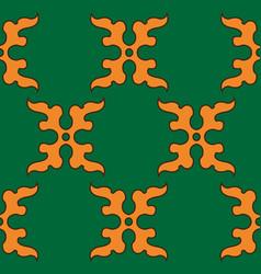 The moroccan mural decorative design art symbol vector
