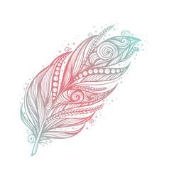native american indian talisman tribal vector image