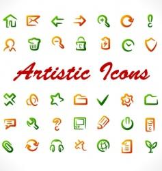 original icons vector image vector image