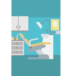 Background of dentist office vector