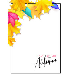 banner with hand lettering label - have a vector image