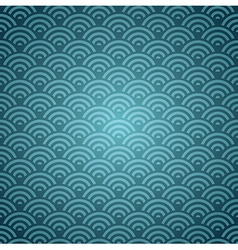Blue orient pattern vector
