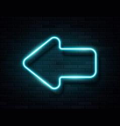 Futuristic sci fi modern neon blue glowing vector