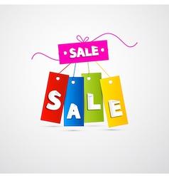 Labels Tags Sale Set vector image