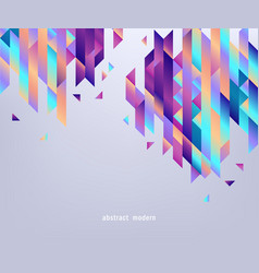 modern banner with gradient bright colorful vector image