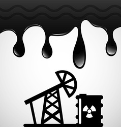 Oil industry design vector