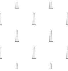 The obelisk of buenos aires pattern seamless vector