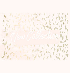 Trendy chic banner design vector