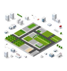 Urban area city vector
