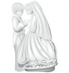 Wedding figures vector