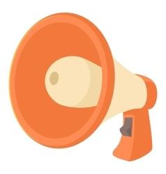 Loudspeaker icon cartoon style vector image