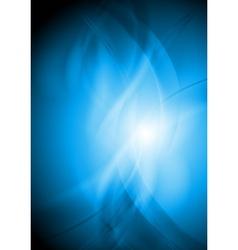 Colourful wavy backdrop vector image