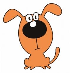 dog puppy vector image vector image