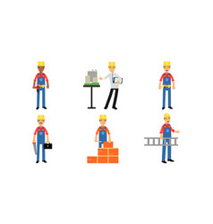 Builders and constructors work with various vector