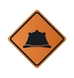 Construction helmet icon sign vector