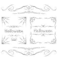 Halloween Frames vector