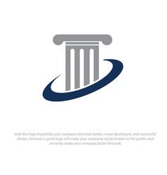 law justice icon vector image