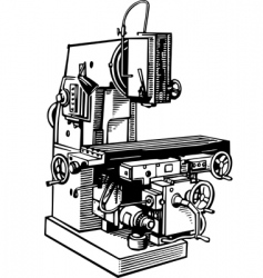 Machine tool vector