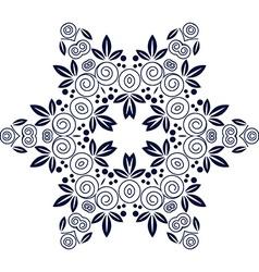 Mandala Flower decorative element vector