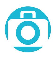 photographic camera digital vector image