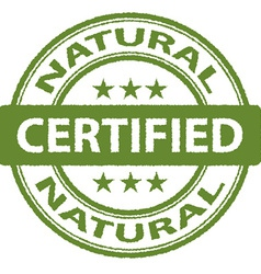 Rugged Natural stamp vector